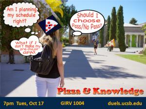 Pizza & Knowledge Event Details